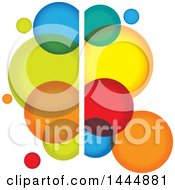 Colorful Abstract Bubble Logo Design