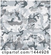 Clipart of a Camouflage Pattern Background - Royalty Free Vector Illustration by Any Vector #COLLC1444926-0165