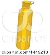 Clipart Of A Mustard Bottle Royalty Free Vector Illustration by Vector Tradition SM
