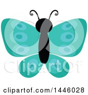 Poster, Art Print Of Turquoise Butterfly