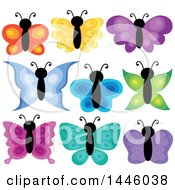 Poster, Art Print Of Colorful Butterflies
