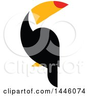 Flat Styled Toucan Bird