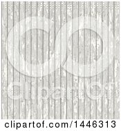 Distressed White Wood Background