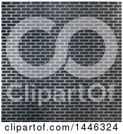 Clipart Of A Perforated Metal Background Texture Royalty Free Illustration