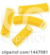Clipart Of Rigatoni Italian Pasta Royalty Free Vector Illustration