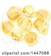 Clipart Of Orecchiette Italian Pasta Royalty Free Vector Illustration