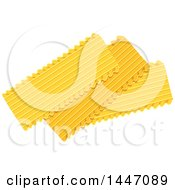 Clipart Of Lasagne Italian Pasta Royalty Free Vector Illustration