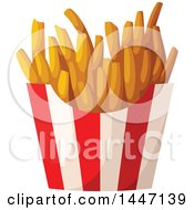 Poster, Art Print Of Container Of French Fries