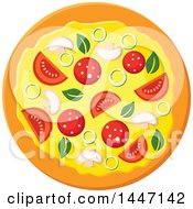 Poster, Art Print Of Pizza