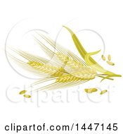 Clipart Of Barley Royalty Free Vector Illustration by Vector Tradition SM