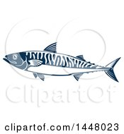 Navy Blue Mackerel Fish