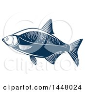 Navy Blue Bream Fish