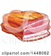 Sketched Beef Brisket