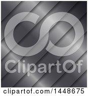 Background Of Diagonal Metal Stripes