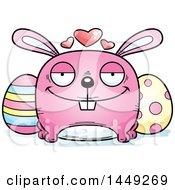 Cartoon Loving Easter Bunny Character Mascot