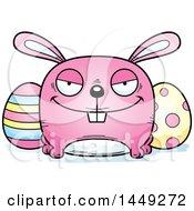 Cartoon Sly Easter Bunny Character Mascot