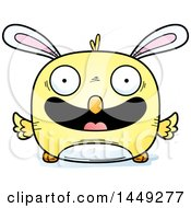 Clipart Graphic Of A Cartoon Happy Easter Bunny Chick Character Mascot Royalty Free Vector Illustration by Cory Thoman