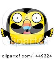 Cartoon Happy Toucan Bird Character Mascot