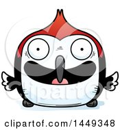 Clipart Graphic Of A Cartoon Happy Woodpecker Character Mascot Royalty Free Vector Illustration by Cory Thoman