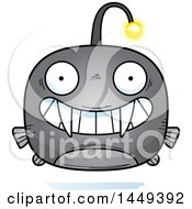 Clipart Graphic Of A Cartoon Grinning Viperfish Character Mascot Royalty Free Vector Illustration by Cory Thoman