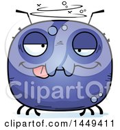 Clipart Graphic Of A Cartoon Drunk Tick Character Mascot Royalty Free Vector Illustration by Cory Thoman