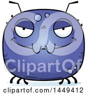 Clipart Graphic Of A Cartoon Evil Tick Character Mascot Royalty Free Vector Illustration by Cory Thoman