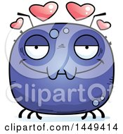 Clipart Graphic Of A Cartoon Loving Tick Character Mascot Royalty Free Vector Illustration by Cory Thoman