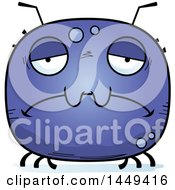 Clipart Graphic Of A Cartoon Sad Tick Character Mascot Royalty Free Vector Illustration by Cory Thoman
