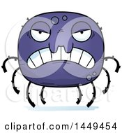 Poster, Art Print Of Cartoon Mad Spider Character Mascot