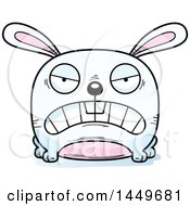 Cartoon Mad Bunny Rabbit Hare Character Mascot