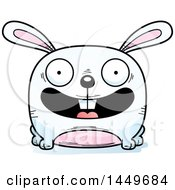 Clipart Graphic Of A Cartoon Happy Bunny Rabbit Hare Character Mascot Royalty Free Vector Illustration by Cory Thoman