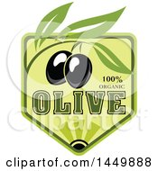 Black Olive Oil Design