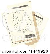 Sewing Pattern Cut