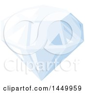 Clipart Graphic Of A Diamond Royalty Free Vector Illustration