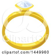 Clipart Graphic Of A Diamond Ring Royalty Free Vector Illustration by Vector Tradition SM