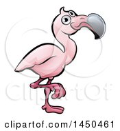 Cartoon Flamingo