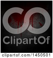 Clipart Graphic Of A Metal Background With Blood Royalty Free Illustration by KJ Pargeter