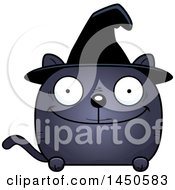 Clipart Graphic Of A Cartoon Happy Witch Cat Character Mascot Royalty Free Vector Illustration by Cory Thoman