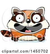 Clipart Graphic Of A Cartoon Smiling Red Panda Character Mascot Royalty Free Vector Illustration by Cory Thoman