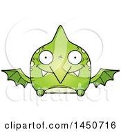 Poster, Art Print Of Cartoon Happy Pterodactyl Character Mascot