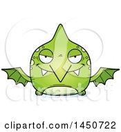 Poster, Art Print Of Cartoon Sly Pterodactyl Character Mascot