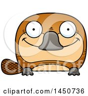 Clipart Graphic Of A Cartoon Happy Platypus Character Mascot Royalty Free Vector Illustration by Cory Thoman