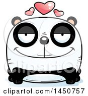 Clipart Graphic Of A Cartoon Loving Panda Character Mascot Royalty Free Vector Illustration by Cory Thoman