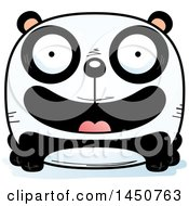 Clipart Graphic Of A Cartoon Smiling Panda Character Mascot Royalty Free Vector Illustration by Cory Thoman
