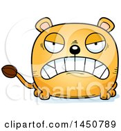 Cartoon Mad Lioness Character Mascot