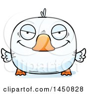 Clipart Graphic Of A Cartoon Sly Duck Character Mascot Royalty Free Vector Illustration by Cory Thoman