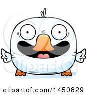 Clipart Graphic Of A Cartoon Smiling Duck Character Mascot Royalty Free Vector Illustration by Cory Thoman