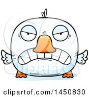 Clipart Graphic Of A Cartoon Mad Duck Character Mascot Royalty Free Vector Illustration by Cory Thoman