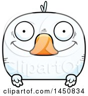 Clipart Graphic Of A Cartoon Happy Duck Character Mascot Royalty Free Vector Illustration by Cory Thoman