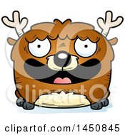 Clipart Graphic Of A Cartoon Smiling Deer Character Mascot Royalty Free Vector Illustration by Cory Thoman